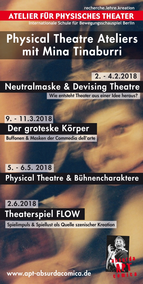 Physical Theatre Ateliers 1-6/2018